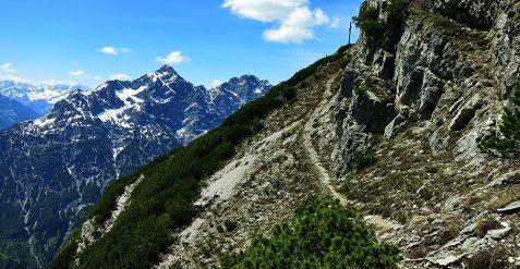 Grubachspitze 2.102m Bergtour im Lechtal Allgäuer Alpen