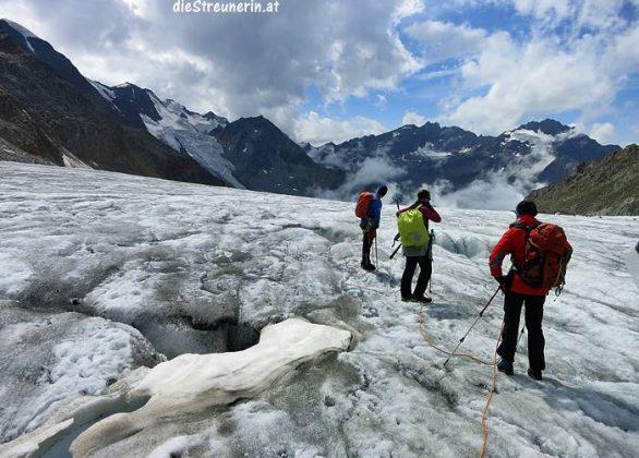 Gletschertour Wildspitze 3.768m vom Pitztal