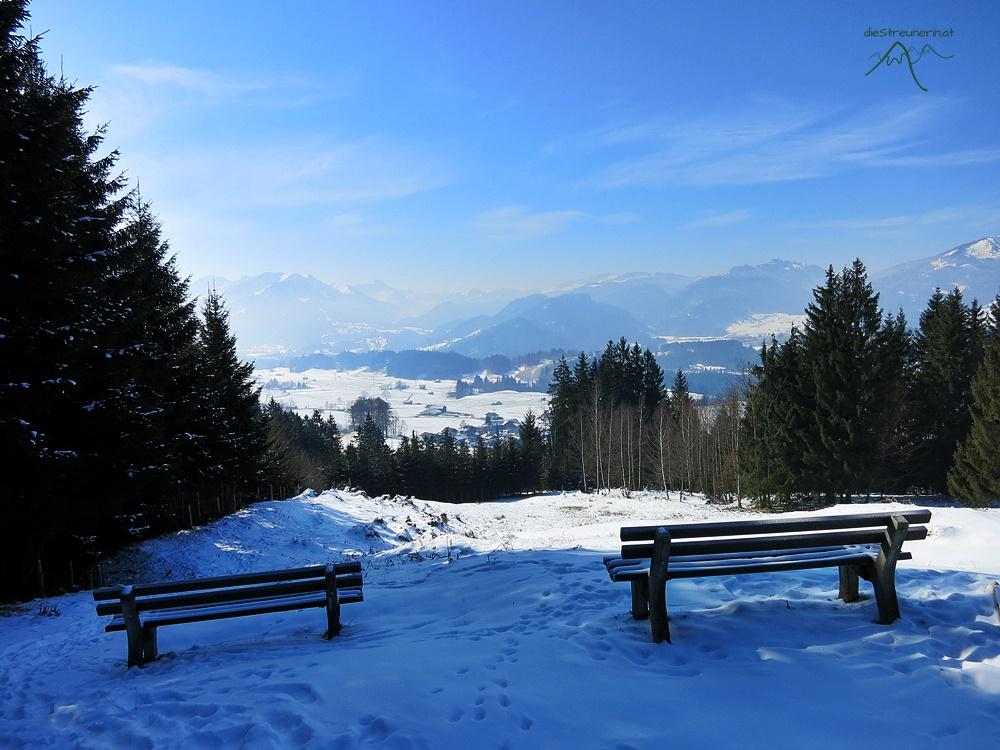 Hinanger Wasserfall, Allgäu, Winterwandern, Eiszapfen