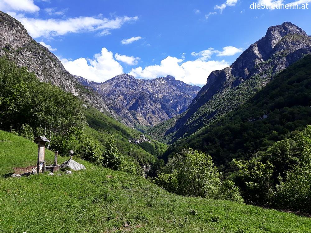 Wanderung Val Codera – Tracciolino