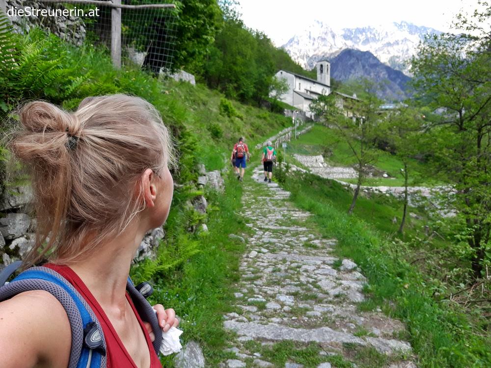 Comer See, Val Codera, Tracciolino, Wanderung