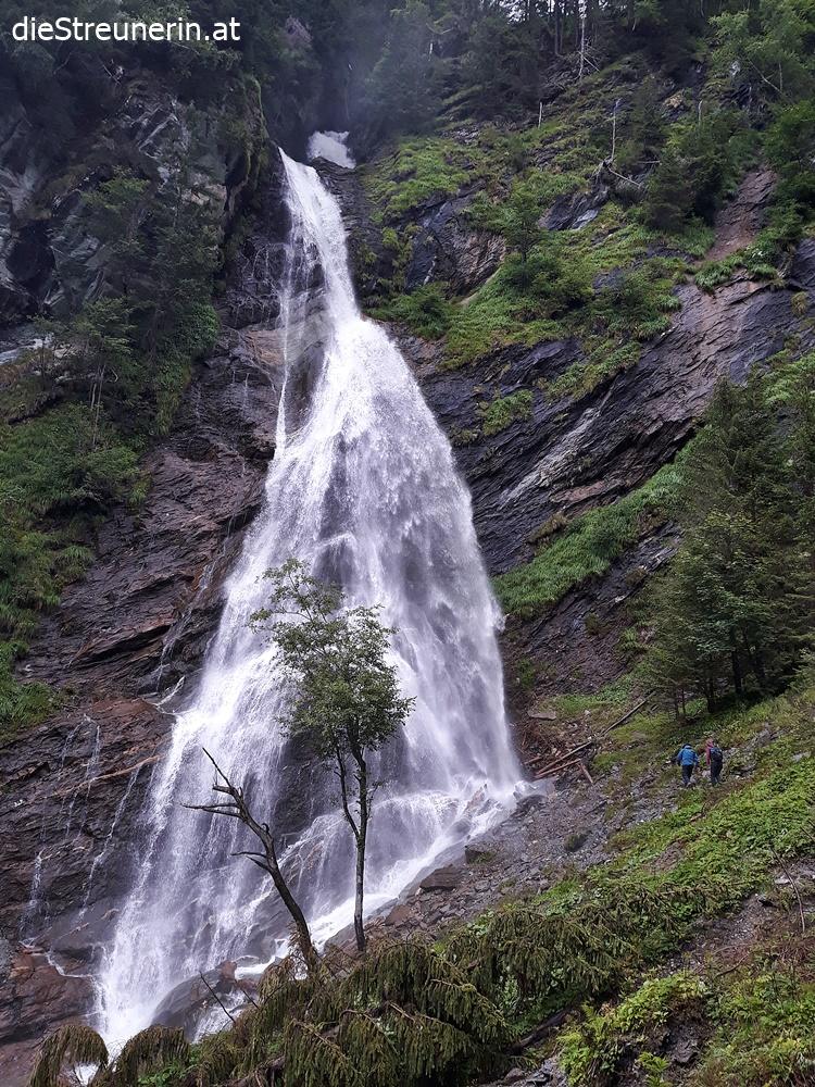 Kreealmwasserfall, Grossarltal, Tal der Almen, Salzburger Land