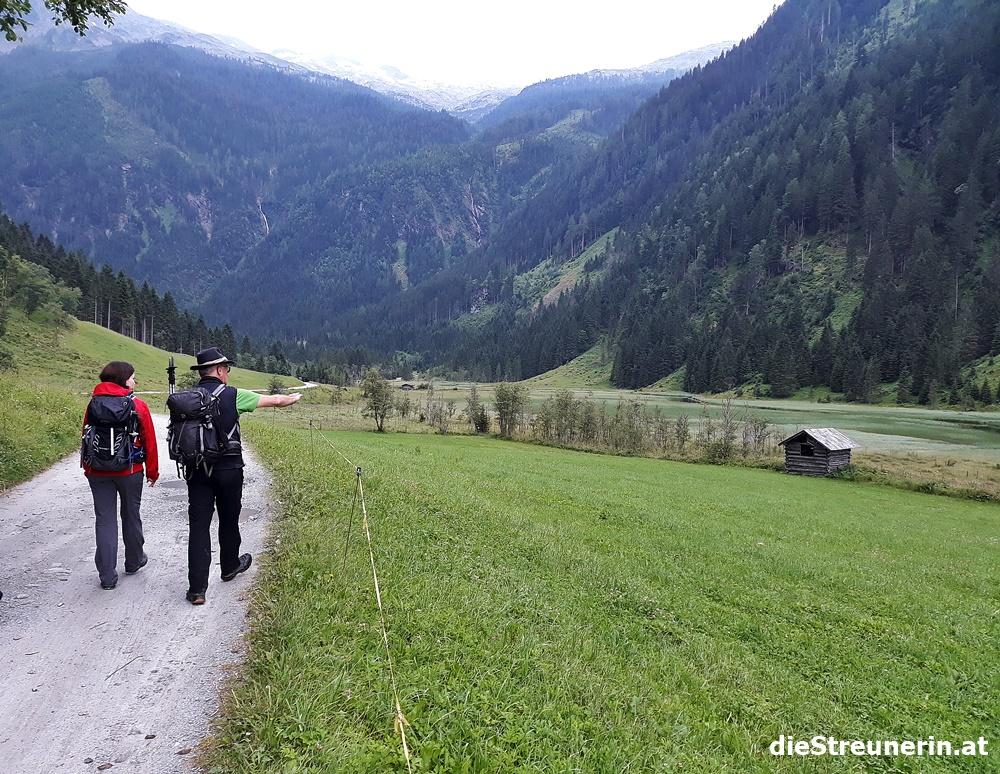 Kreealmwasserfall, Ötzlsee, Grossarltal, Tal der Almen, Salzburger Land