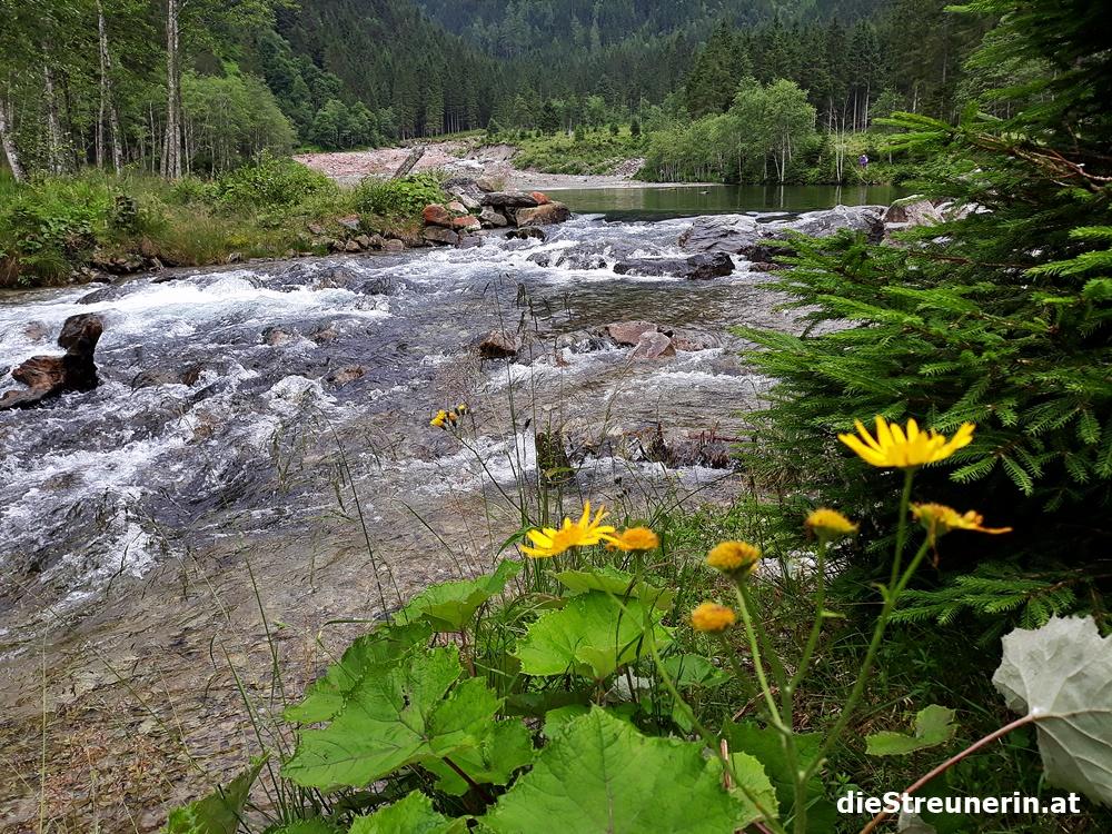 Ötzlsee, Kreealmwasserfall, Grossarltal, Tal der Almen, Salzburger Land