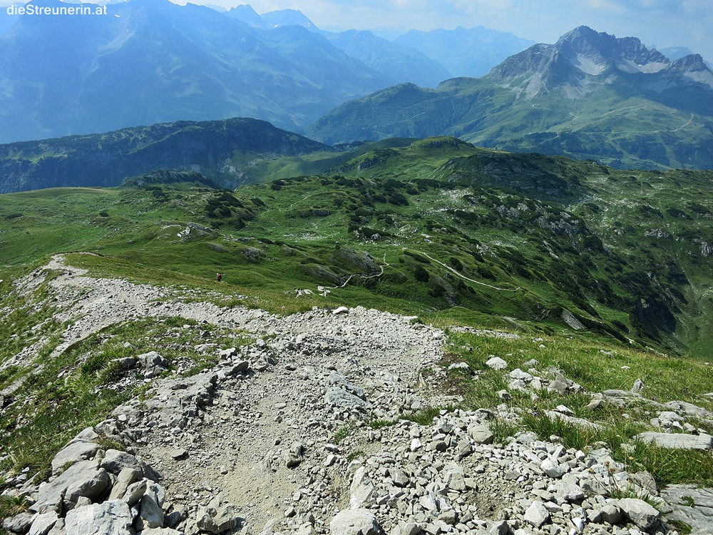 Bergtour Walser Gaishorn, Kleinwalsertal, Gemstertal,
