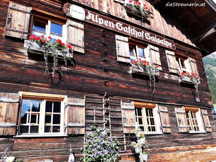 Berggasthof Gaisalpe, Einkehr, Allgäu, Wandern