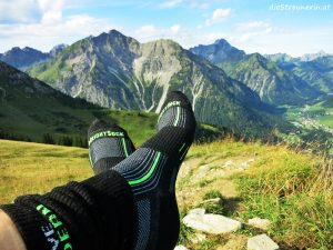 Wrightsock im Test – zweilagige Socken gegen Blasenbildung