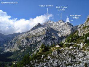 Triglav 2.864m Bergtour – höchster Berg Sloweniens