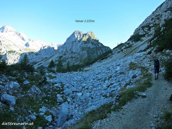 Triglav Besteigung, Julische Alpen, Slowenien