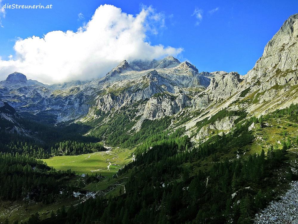 Slowenien, Triglav, Bergtour