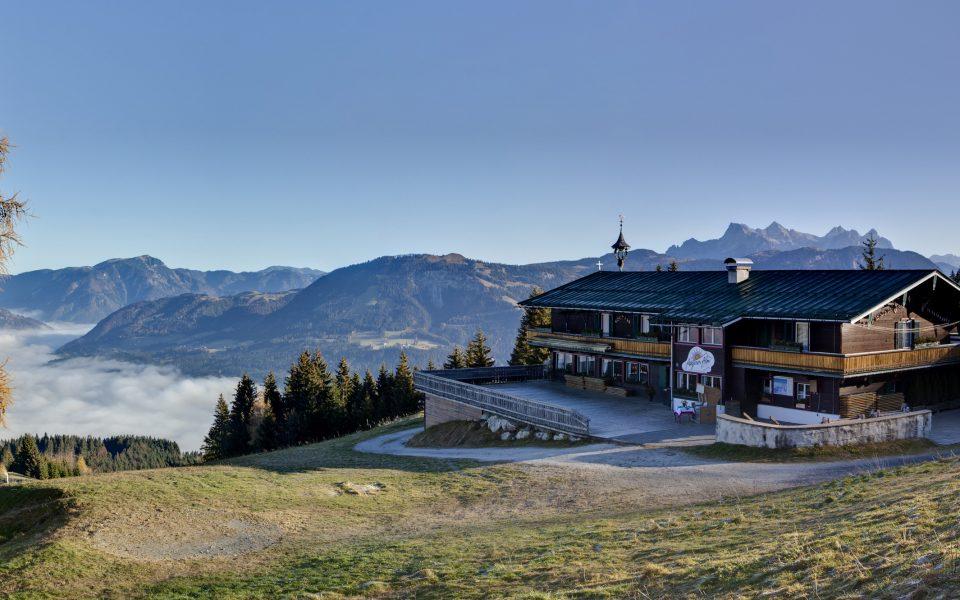 Kitzbüheler Alpen, St. Johann in Tirol, Angerer Alm