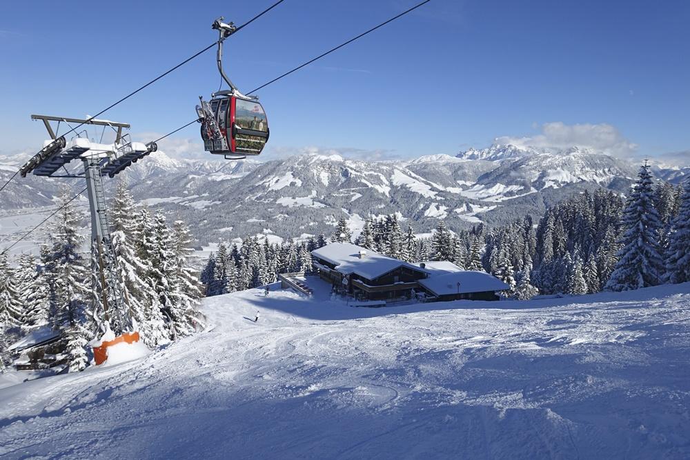 Kitzbüheler Alpen, St. Johann in Tirol, Skistar, Angerer Alm
