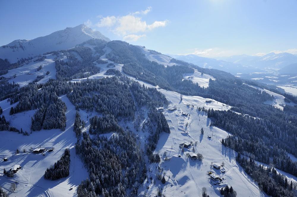 Kitzbüheler Alpen, St. Johann in Tirol, Winter, Skigebiet