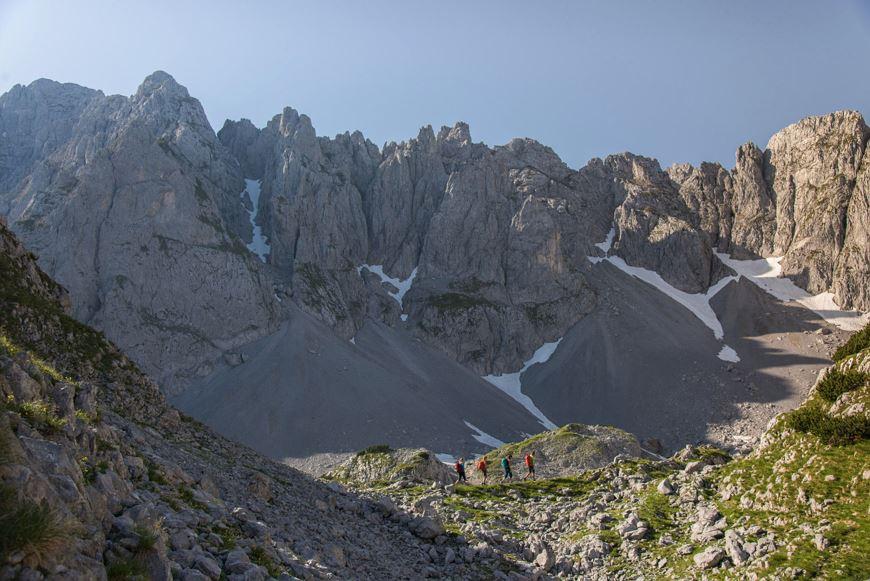 Kitzbüheler Alpen, St. Johann in Tirol, Wilder Kaiser, Bergtouren