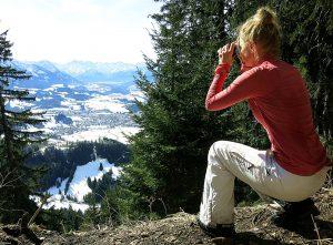 Ferngläser für Wanderer und Bergsteiger