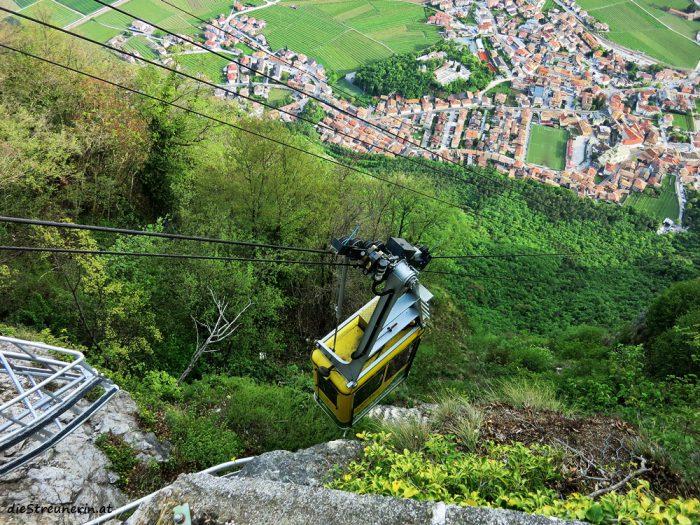 Klettersteig Burrone Gionvanelli Trentino Italien Via ferrata Gardasee