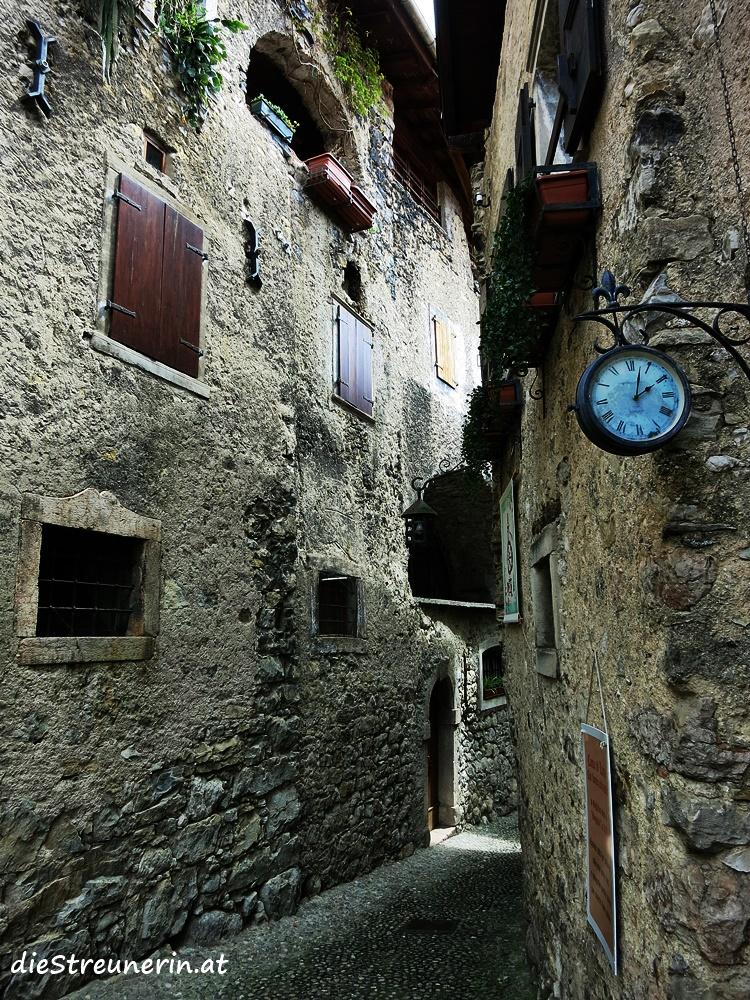 Canale di Tenno, Gardasee, Trentino, Lago di Tenno, Italien, Wanderung