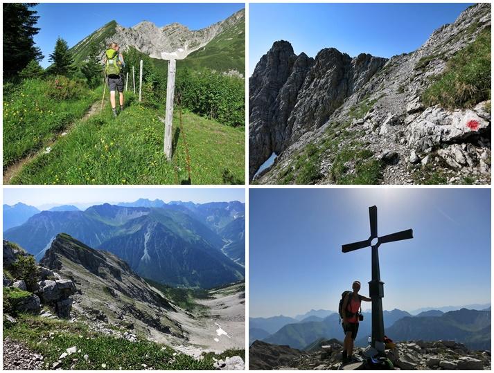 Knittelkarspitze, Lechtaler Alpen,