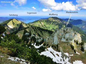 Einfache Gipfel Risserkogel und Setzberg – Tegernseer Berge