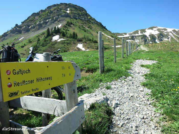 Galtjoch, Abendspitze, Ehenbichler Alm, Reutte, Lechtaler Alpen
