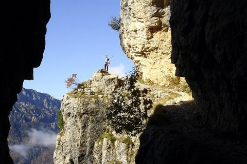 Monte Cornetto & Monte Baffelan – ehemalige Kriegswege