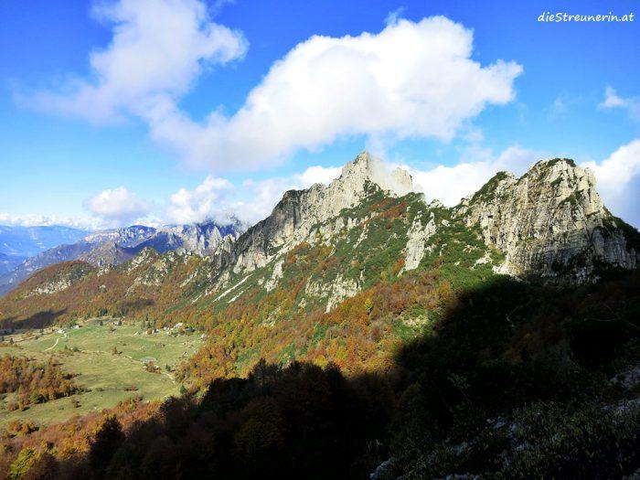 Monte Cornetto, Monte Baffelan, Wanderung, Rovereto, Venzentiner Alpen
