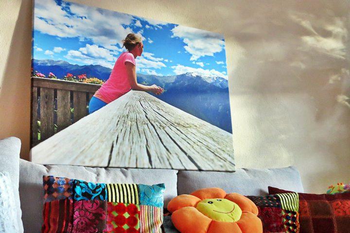 Wandbild von Saal Digital mit GUTSCHEINcode for you