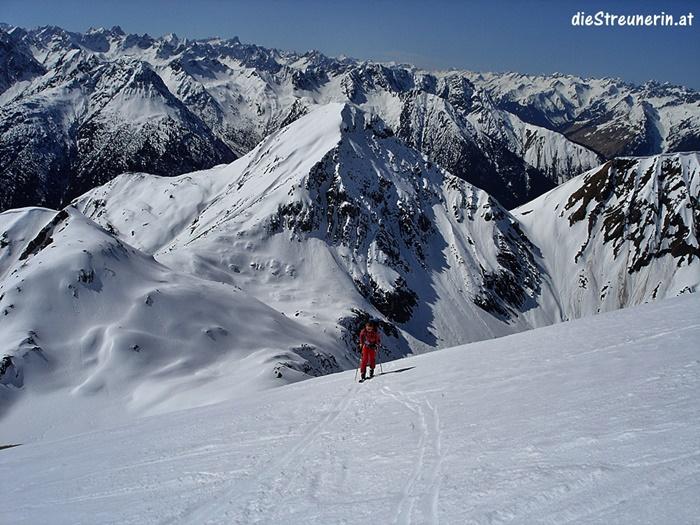 Skitour Namloser Wetterspitze, Lechtaler Alpen