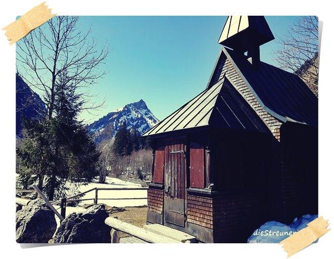 Hubertuskapelle, Hintersteiner Tal, Allgäuer Bergwelt