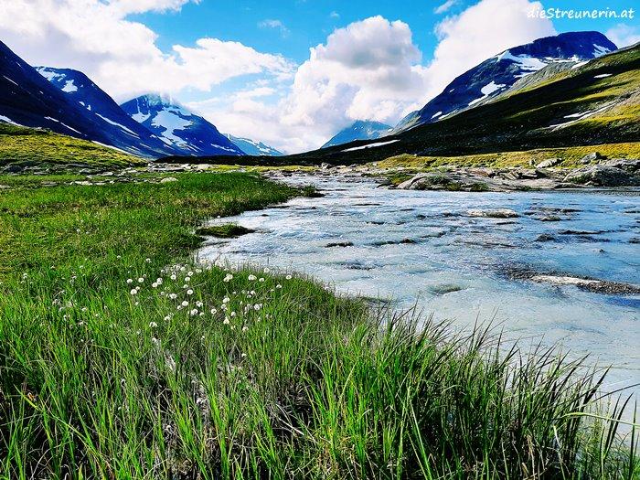 Sarek Trekking Lappland Schweden
